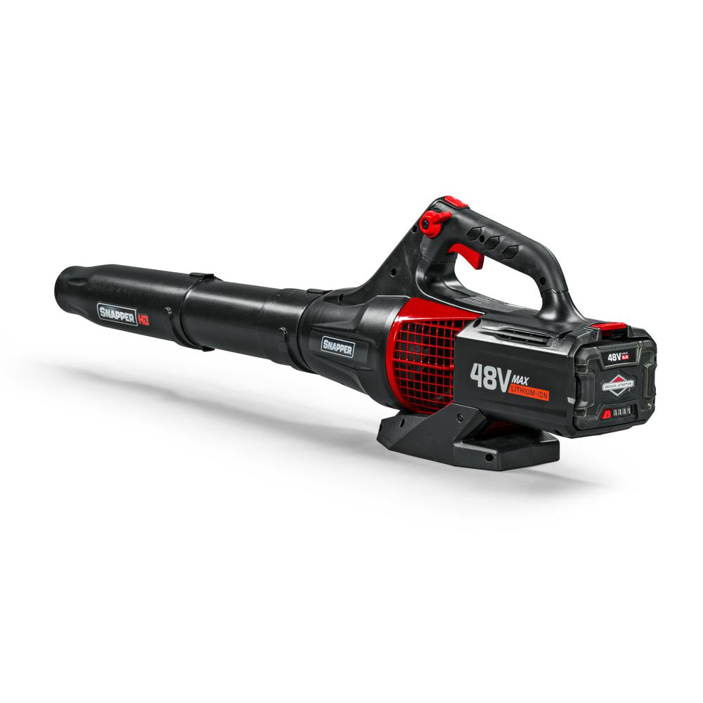 Snapper HD 120 MPH 450 CFM 48-Volt Lithium-Ion Battery Powered Handheld Leaf Blower Battery/Charger Not Included