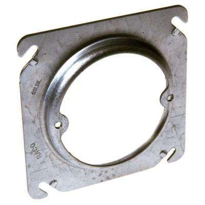 4 in. Square Fixture Cover, Raised 5/8 in. (25-Pack)