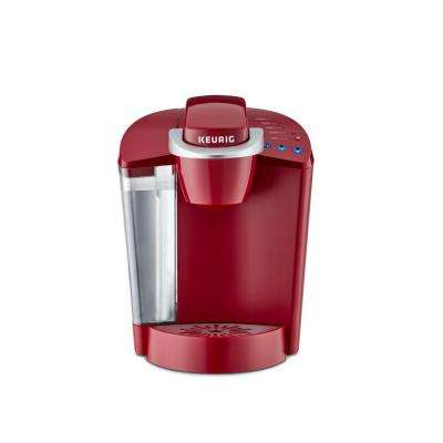 Classic K55 Rhubarb Single Serve Coffee Maker with Automatic-Shut Off and K-Cup Variety Pack