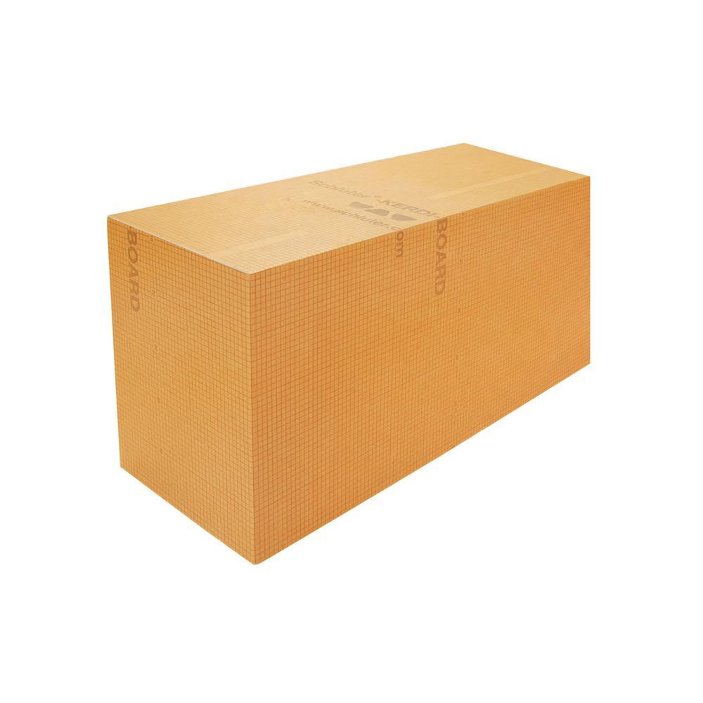 Kerdi-Board-SB 38 in. x 11-1/2 in. Rectangular Shower Bench