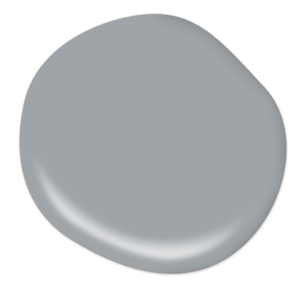 BEHR Supernova grey paint color. #paintcolors #behrsupernova #bestgreypaintcolor