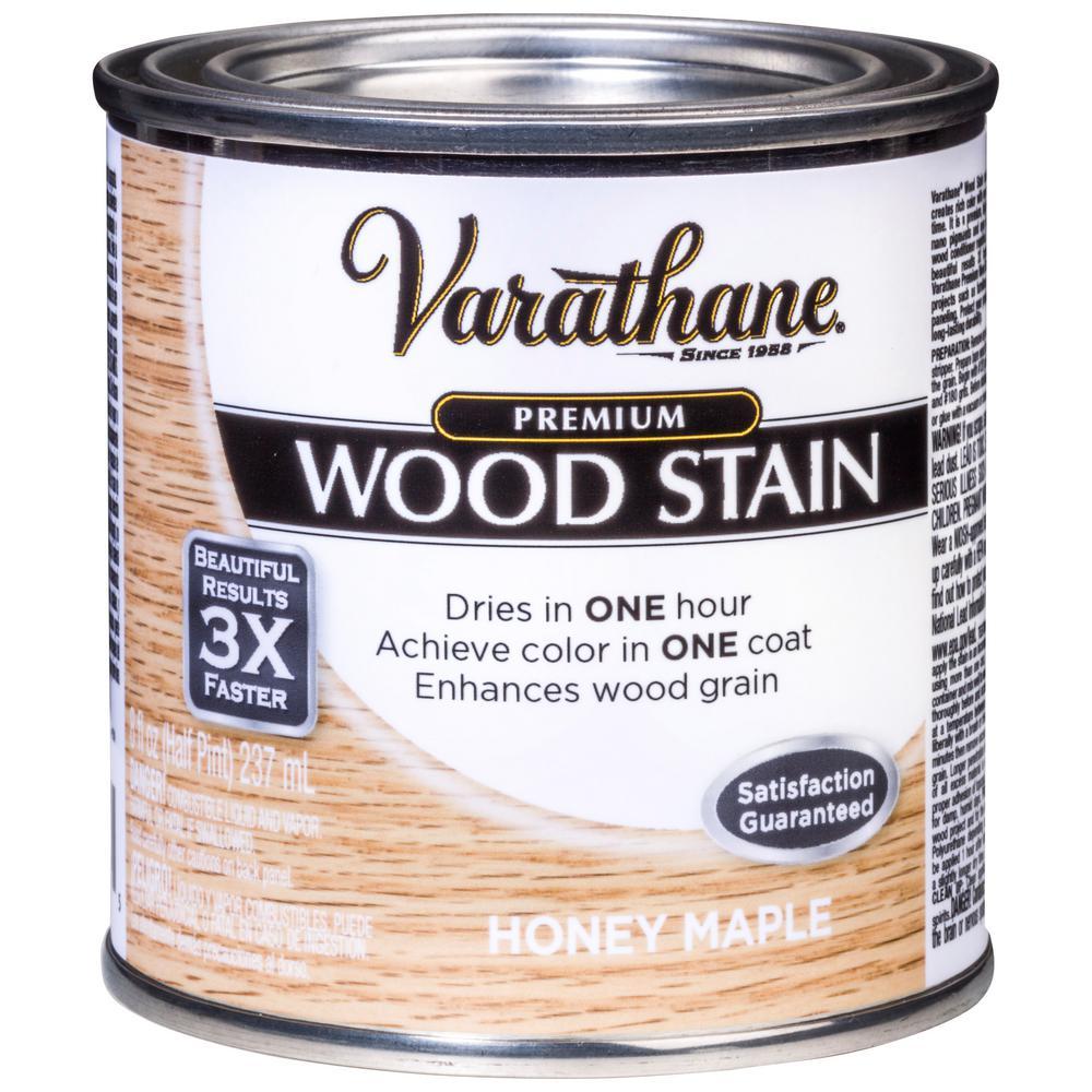 Varathane 8 oz. Honey Maple Premium Fast Dry Interior Wood Stain