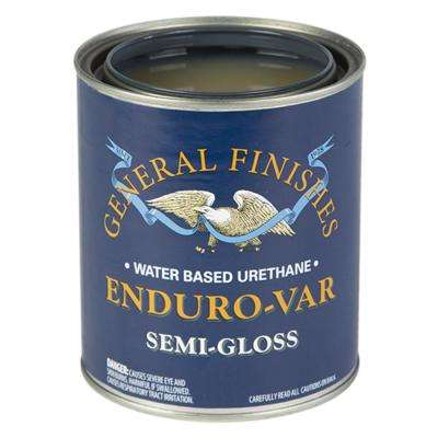 1-qt. Semi-Gloss Enduro-Var Urethane Interior Topcoat