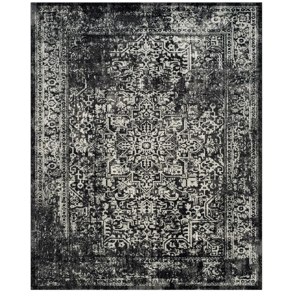 Evoke Black/Gray 10 ft. x 14 ft. Area Rug