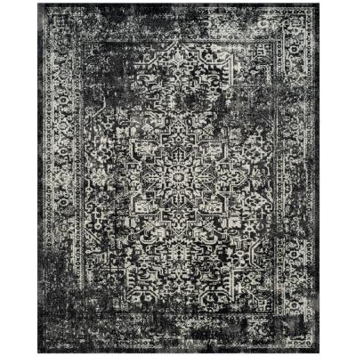 Evoke Black/Gray 8 ft. x 10 ft. Area Rug