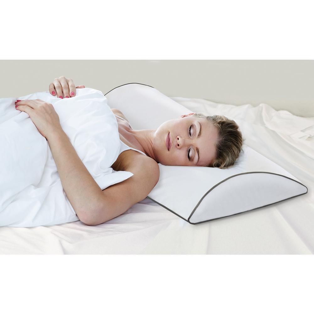 Luna Lux Queen Gel Memory Foam Bed Pillow (2-Pack)