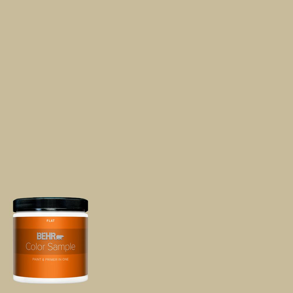 Behr Premium Plus 8 Oz 760d 4 Lion Flat Interior Paint And Primer In One Sample B310416 The Home Depot