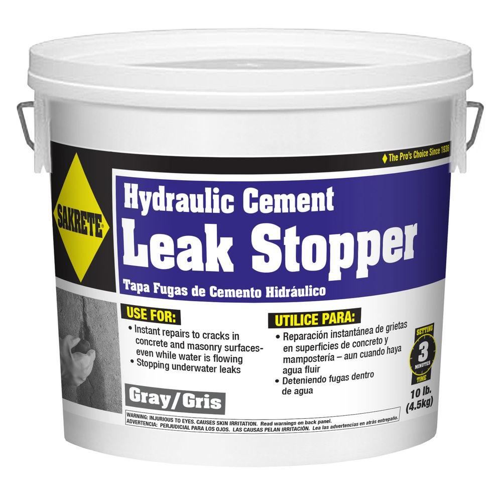 SAKRETE 10 lb. Leak Stopper Cement Concrete Mix