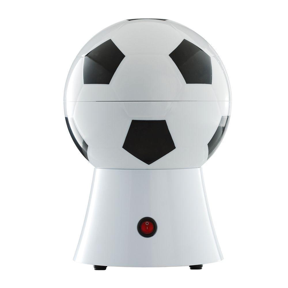 Soccer Ball 2 oz. White Countertop Popcorn Machine