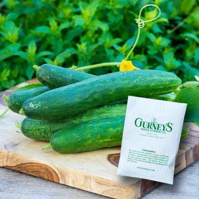 Cucumber Garden Sweet Burpless Hybrid (50 Seed Packet)
