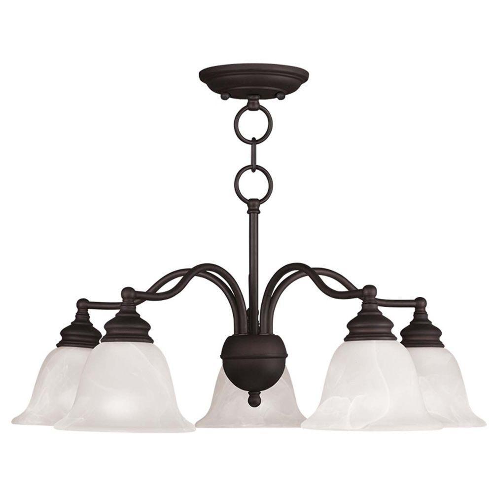 Livex Lighting Providence 5-Light Bronze Incandescent