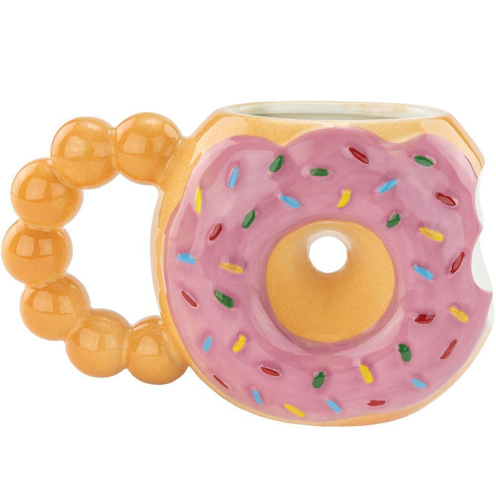 10 oz. Assorted Donut Mug
