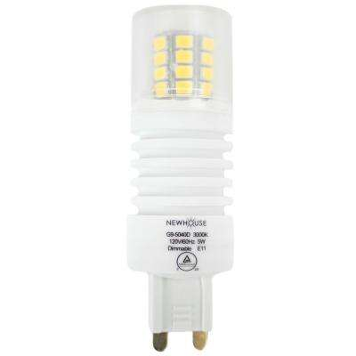 40W Equivalent Soft White G9 Dimmable LED Light Bulb