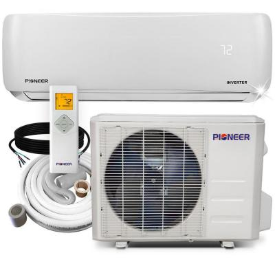 9,000 BTU 3/4 Ton 19.5 SEER Ductless Mini Split Air Conditioner Heat Pump Variable Speed DC Inverter+ System 110/120V