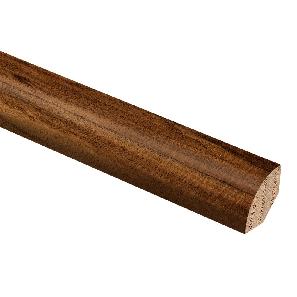 Zamma Hand Scraped Natural Acacia 3/4 in. Thick x 3/4 in. Wide x 94 in. Length Hardwood Quarter Round Molding