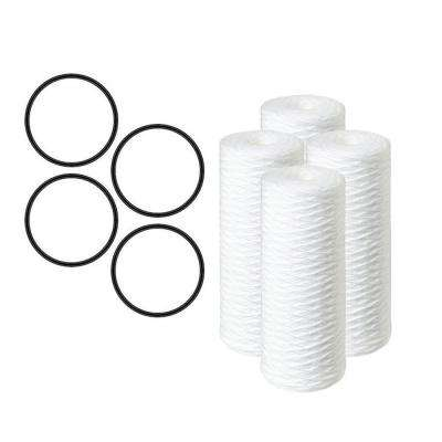 20 in. 5 Micron Sediment Replacement Water Filter Cartridge - (2 Pack)