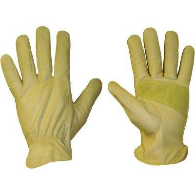 Cowhide Leather X-Large Work Gloves
