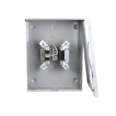 Square D 200 Amp Ringless Horn Bypass Underground Meter Socket With 5th Jaw 1004967b The Home Depot