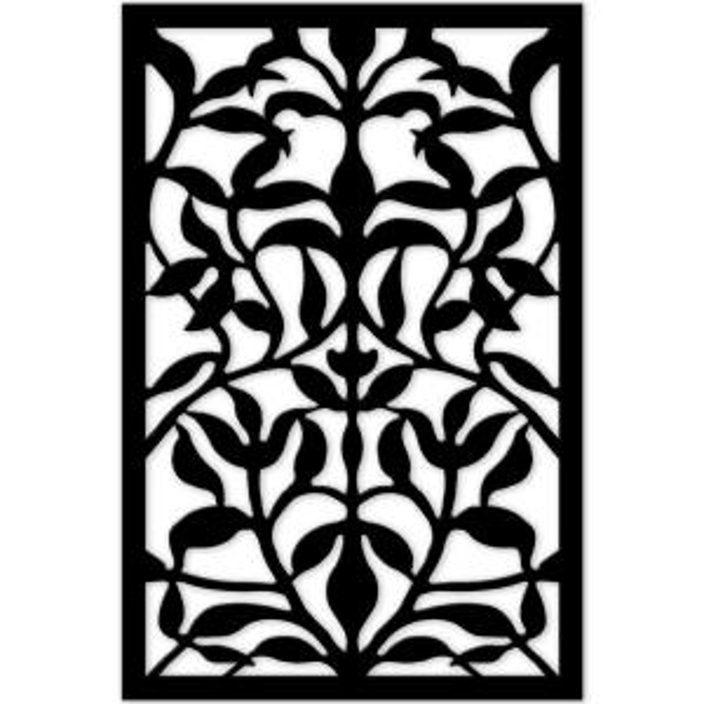 Acurio Latticeworks 1 4 In X 32 In X 4 Ft Black Olive