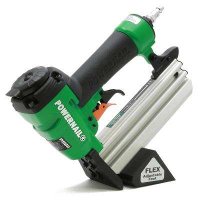 Pneumatic 20-Gauge Hardwood Flooring Trigger Pull Cleat Nailer Kit