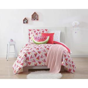Fruity Printed Multiple Full / Queen Comforter Set by
