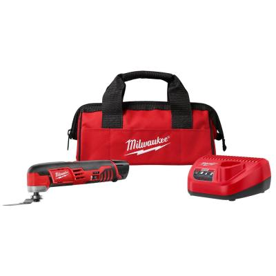 M12 12-Volt Lithium-Ion Cordless Oscillating Multi-Tool Kit with One 1.5 Ah Battery, Accessories, Charger and Tool Bag