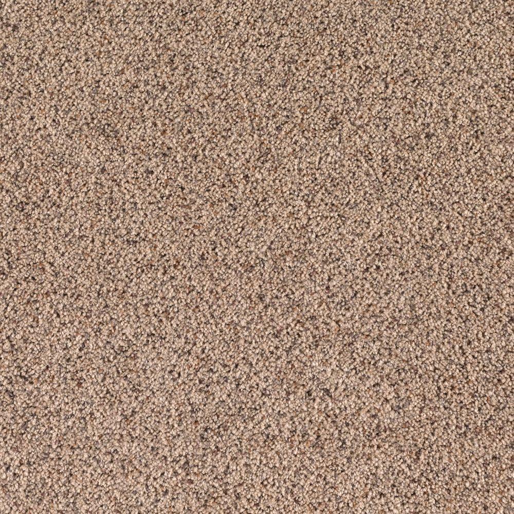 SoftSpring Lush I - Color Burlap 12 ft. Carpet