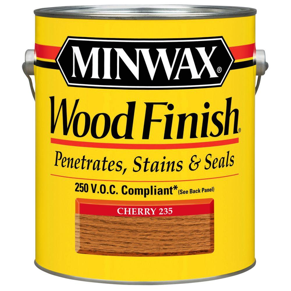 1 gal. Wood Finish Cherry Oil Based Interior Stain 250 VOC