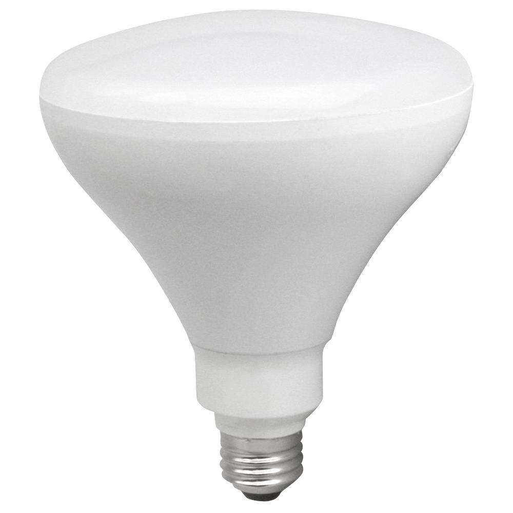 TCP 85W Equivalent Soft White (2700K) BR40 Dimmable LED Flood Light Bulb (6-pack)