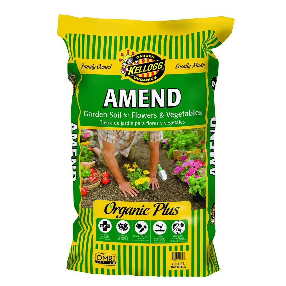 Kellogg garden organics 2 cu ft amend garden soil for for Organic soil definition