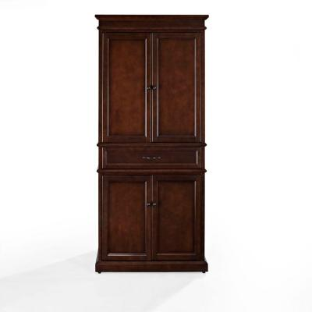Parsons Mahogany Storage Cabinet