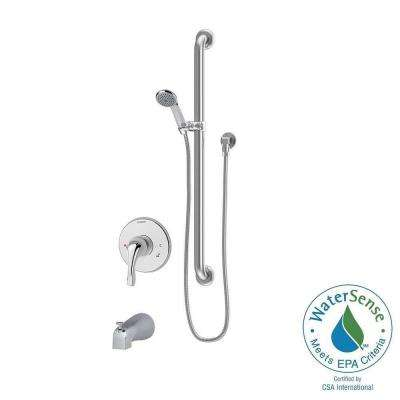 Origins Temptrol 1-Spray Hand Shower in Chrome (Valve Included)