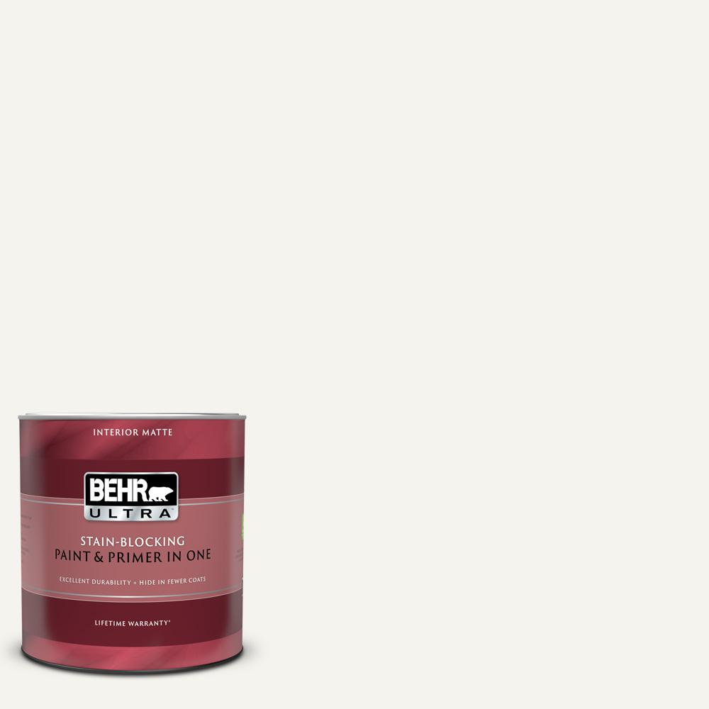 BEHR Polar Bear is a white paint color similar to Benjamin Moore White Dove. #behrpolarbear #whitepaintcolors #paintcolors