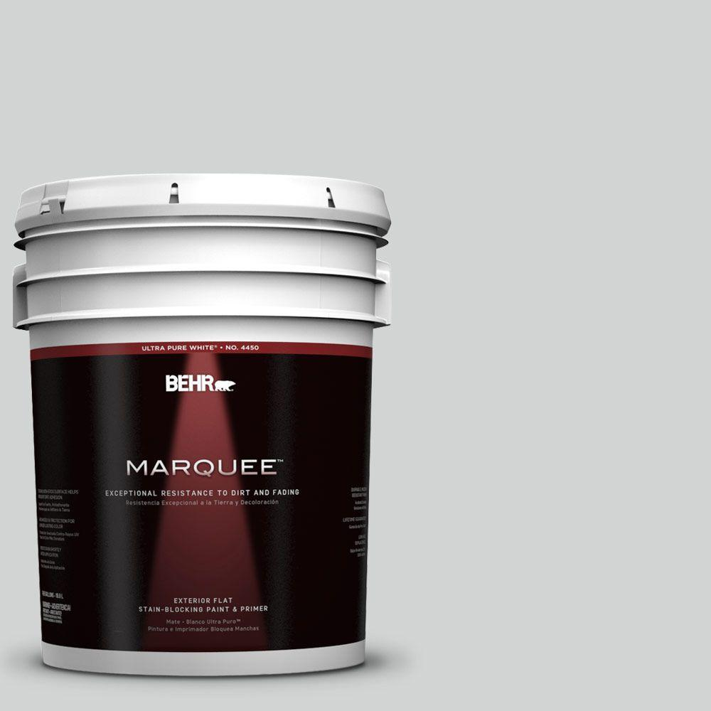 5-gal. #780E-3 Sterling Flat Exterior Paint