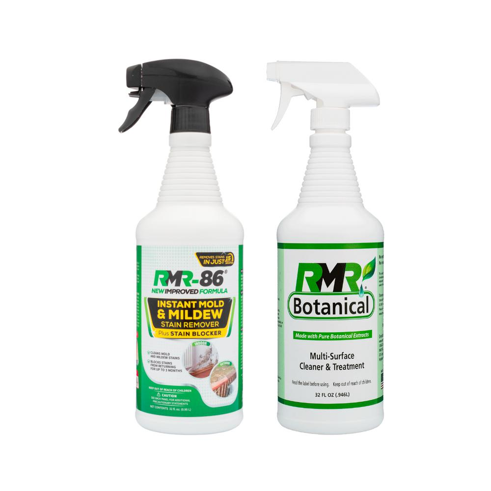 RMR-86 32 oz. Instant Mold Stain Remover and Botanical Multi- Surface Cleaner and Treatment (2-Pack)