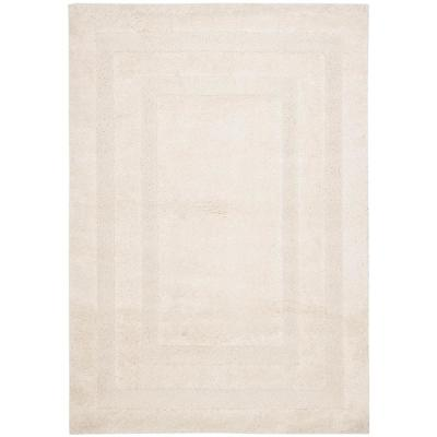 Florida Shag Cream 5 ft. x 8 ft. Area Rug