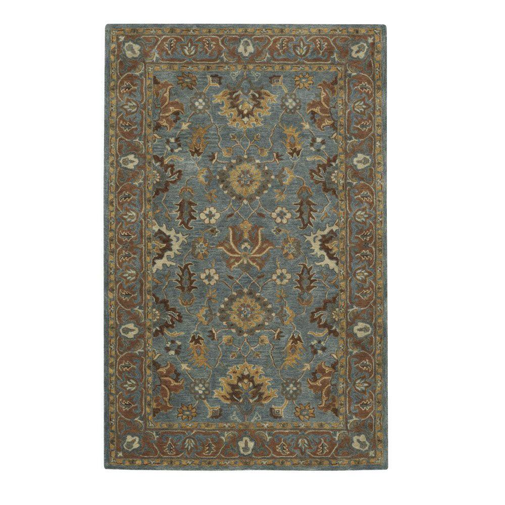 Home Decorators Collection Maiden Blue 2 ft. x 3 ft. Area Rug