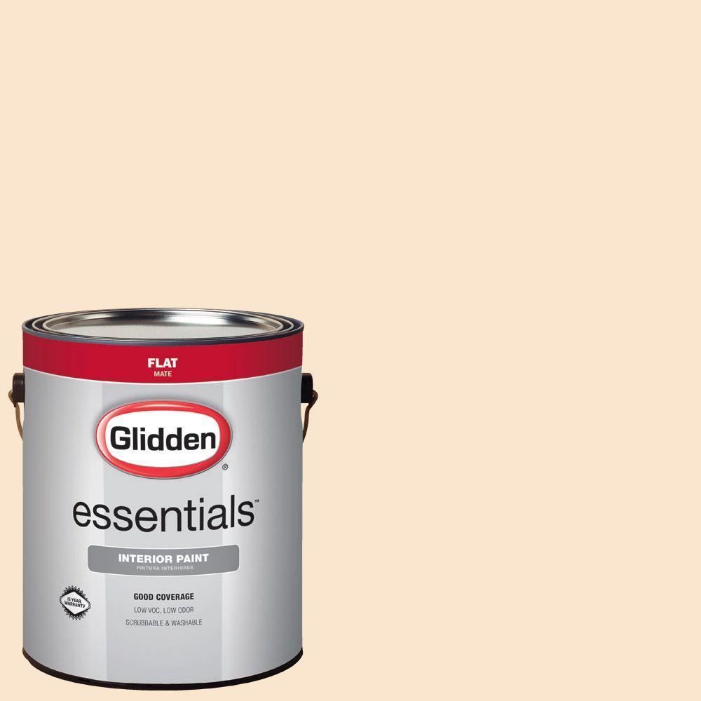 #HDGO30U Peach Satin Flat Interior Paint