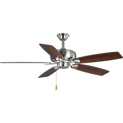 Edgefield 52 in. 5-Blade Brushed Nickel Ceiling Fan
