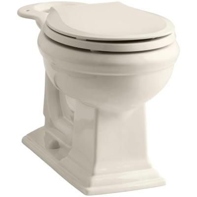 Memoirs Comfort Height Round Front Toilet Bowl Only in Biscuit