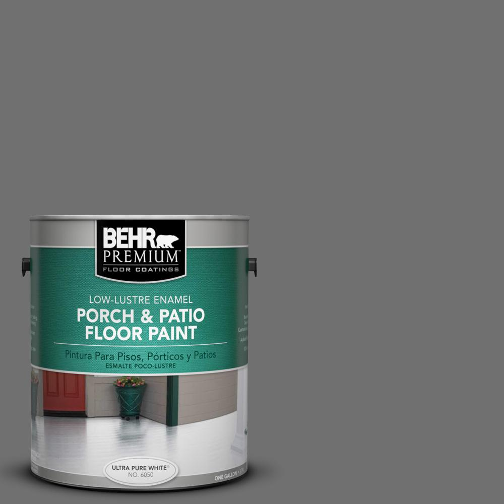 1 gal. #AE-48 Machine Gray Low-Lustre Porch and Patio Floor Paint