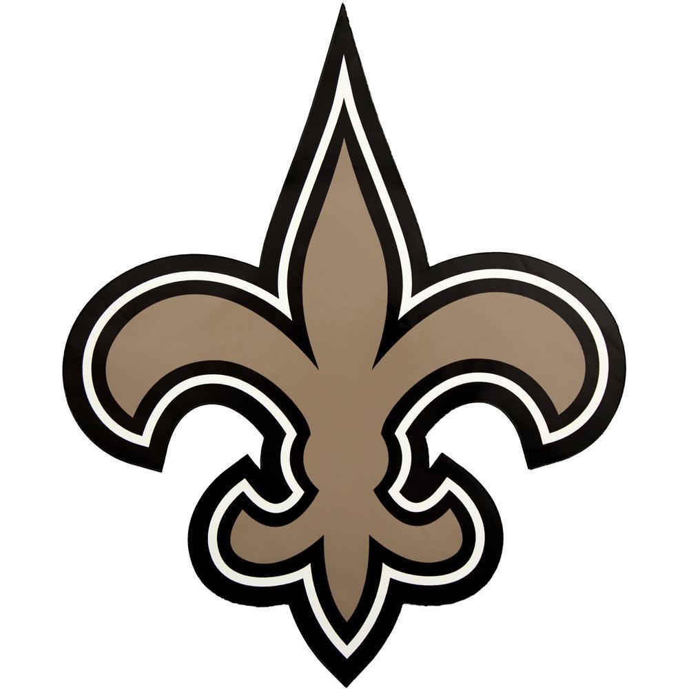 NFL New Orleans Saints Outdoor Logo Graphic- Large