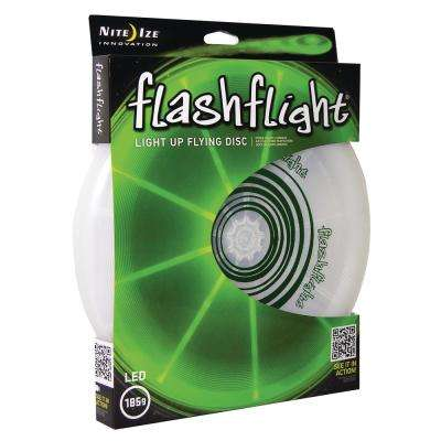 Flashflight LED Light-Up Flying Disc in Green