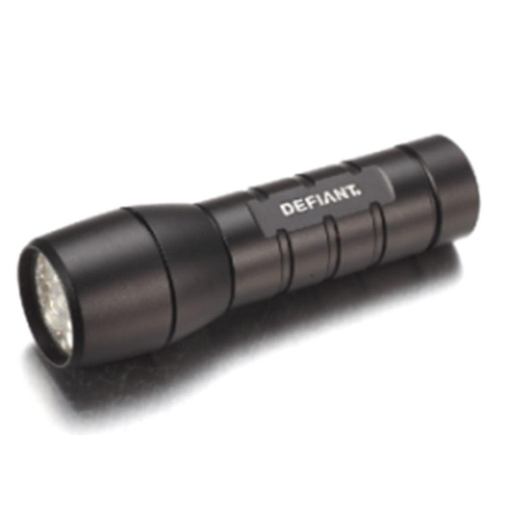 defiant uv led flashlight hd 1554 the home depot