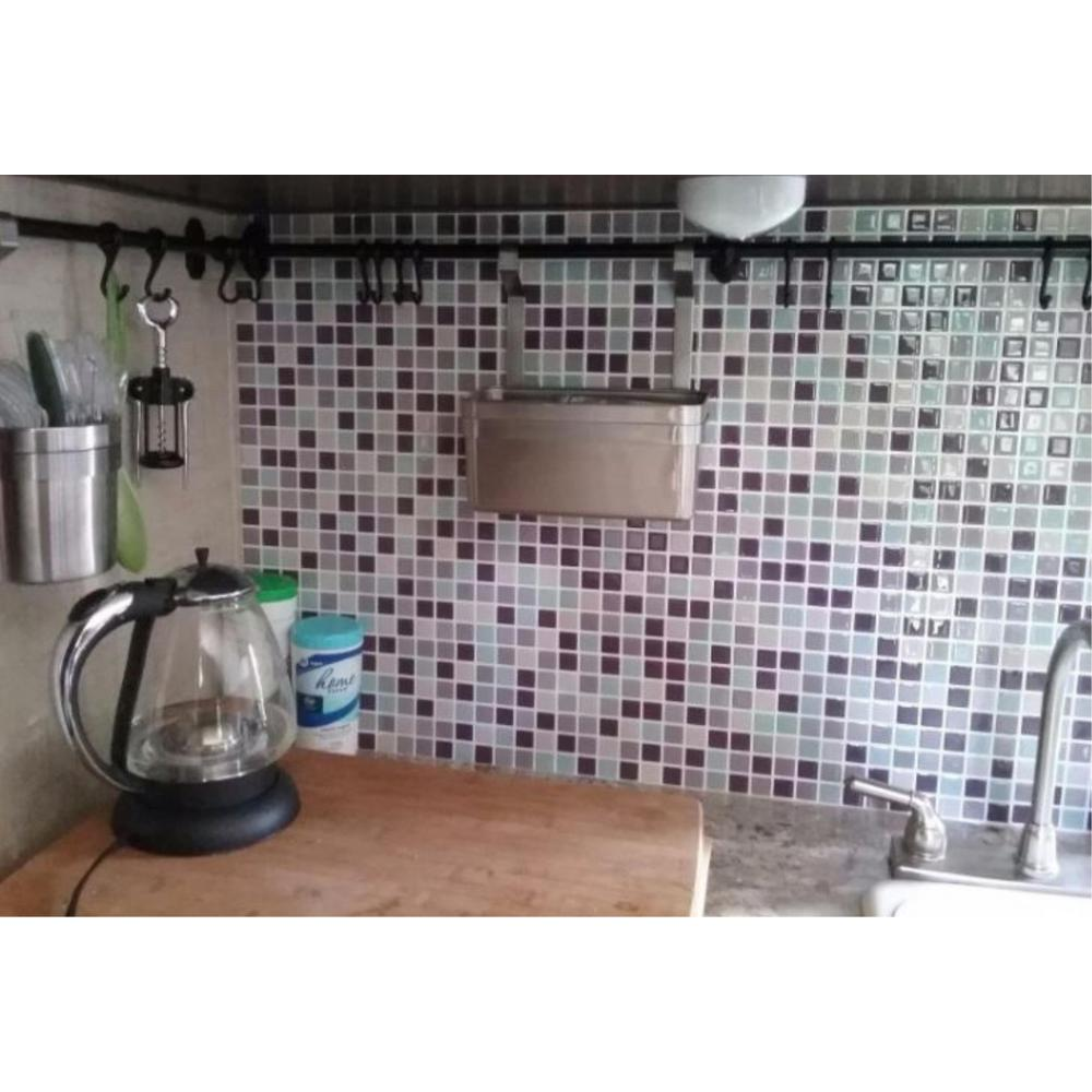 Tic Tac Tiles Mosaic Violetmint 10 In W X H L And Write A Review