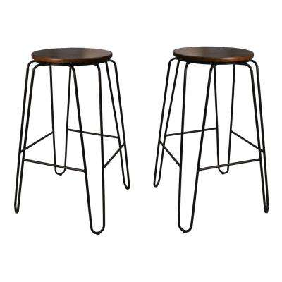 Bon Elm Stacking Stool (Set Of 2)