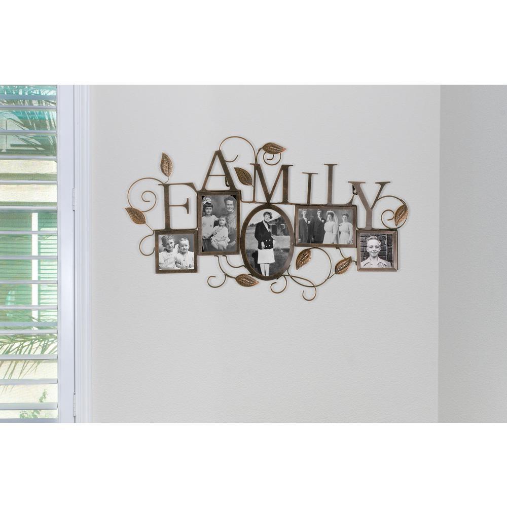 Family Vine 5 Slot Collage 4 In X