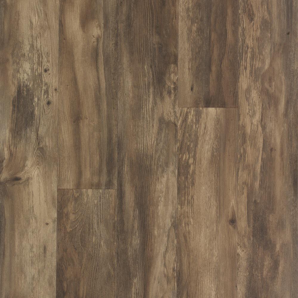Take Home Sample - Weathered Grey Wood Laminate Flooring - 5 in. x 7 in.