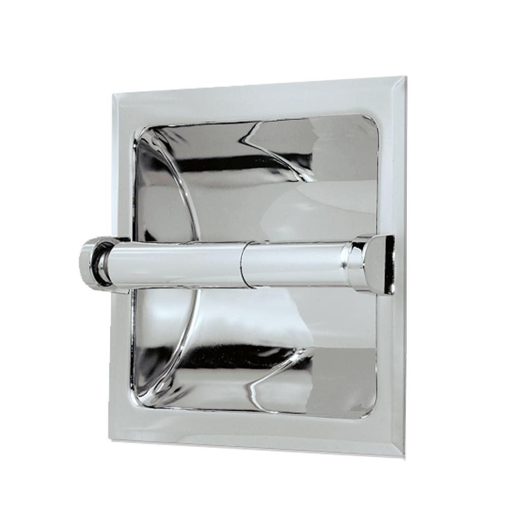 Gatco Recessed Toilet Paper Holder In Chrome