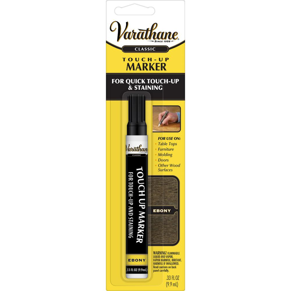 Varathane  33 oz  Ebony Wood Stain Touch-Up Marker